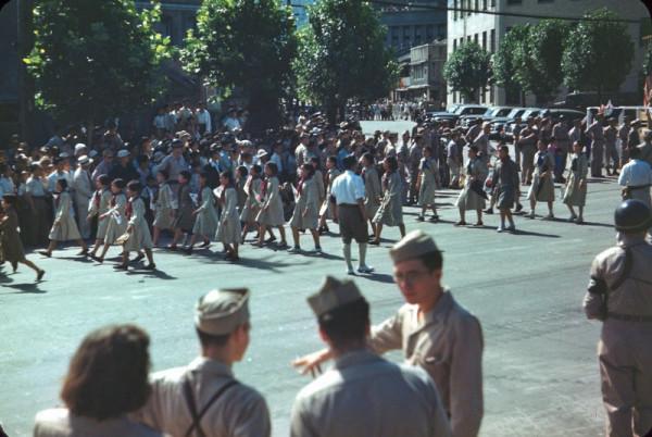 25 Korean Girl Scouts, Seoul, Aug 15, 1946.jpg